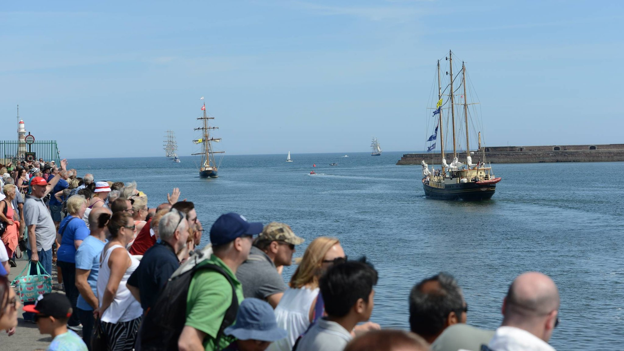 Sunderland Parade of Sail marks Tall Ships festival end