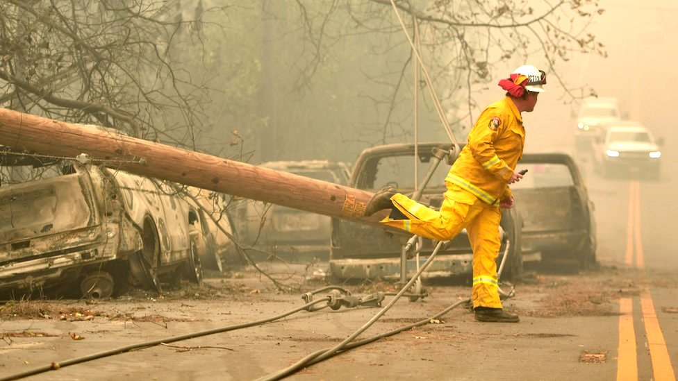 California wildfires: Death toll reaches grim milestone