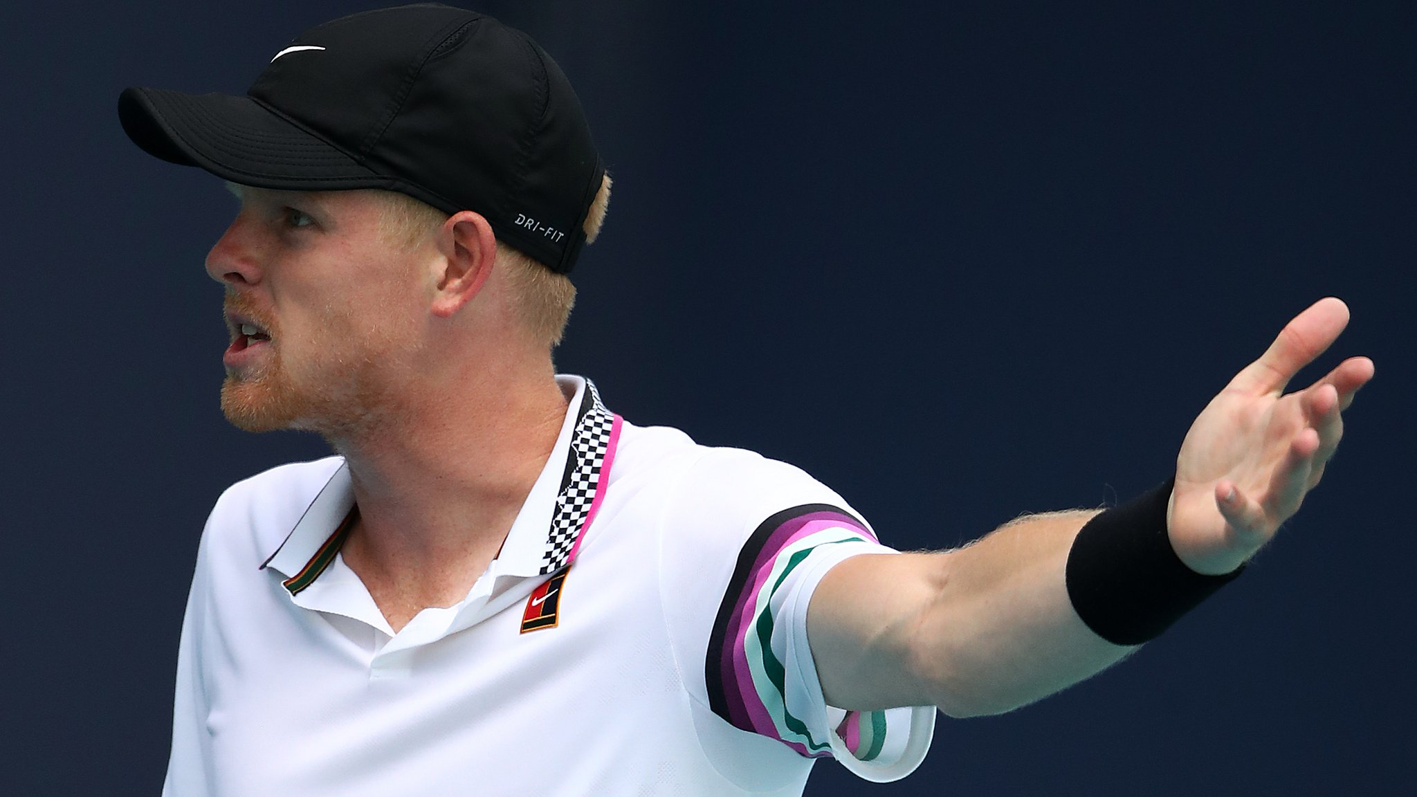 Miami Open: Kyle Edmund distracted by crowd in loss to John Isner