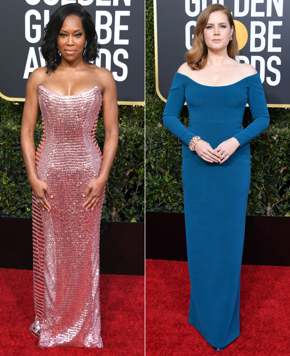 Regina King and Amy Adams