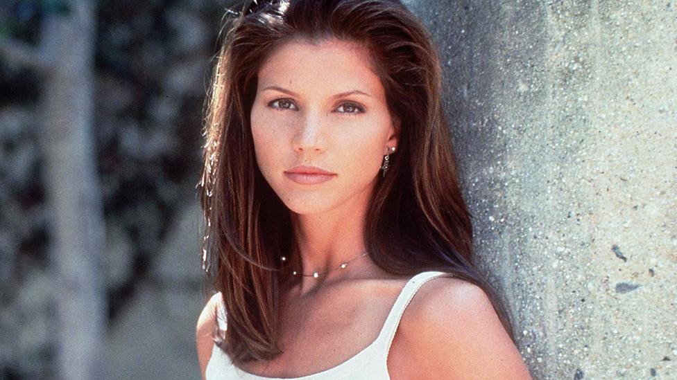 Charisma Carpenter in Buffy the Vampire Slayer