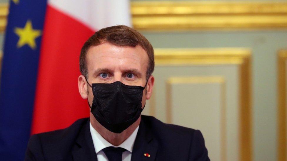 French President Emmanuel Macron Reimposes Lockdown