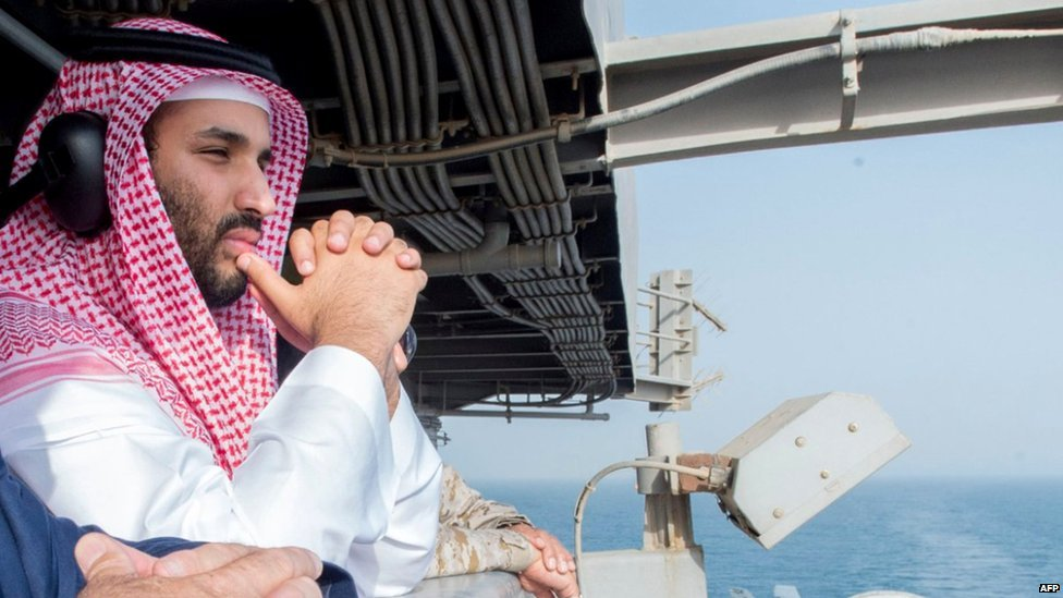 Saudi deputy Crown Prince and Minister of Defence Mohammed bin Salman