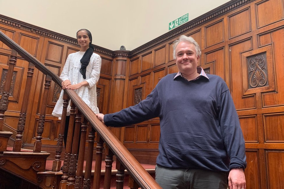 Dr Amira Valli and Dr Paul Whitaker