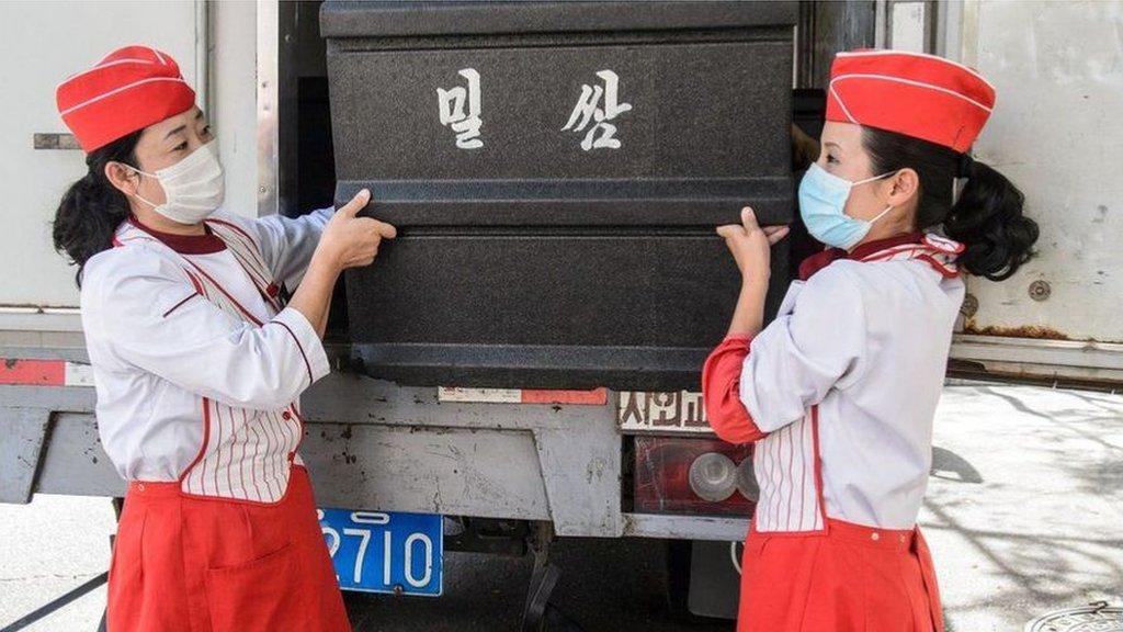 朝鮮領導人金正恩承認該國正面臨 「嚴峻的形勢」。