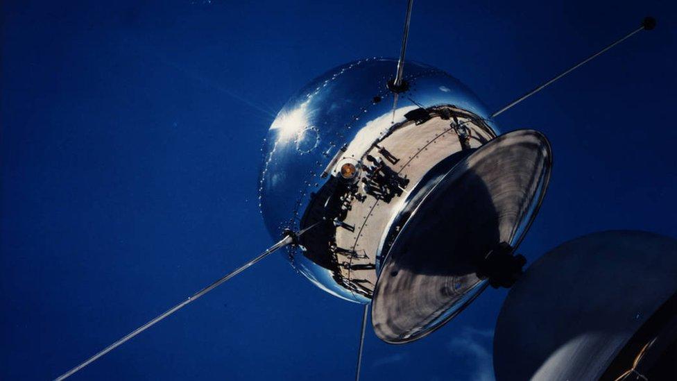The Vanguard 1 satellite