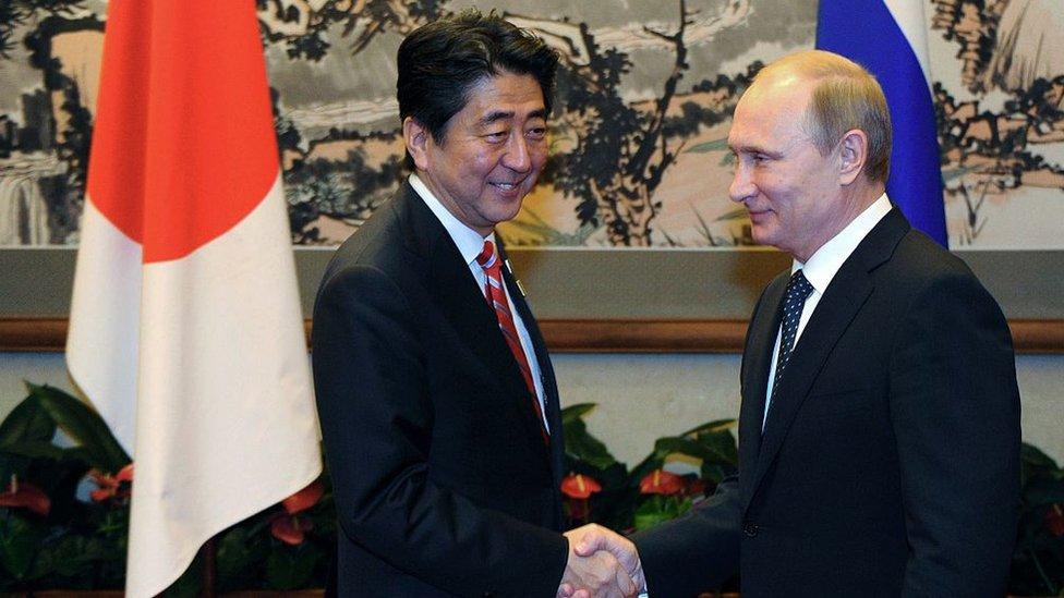 Abe y Putin