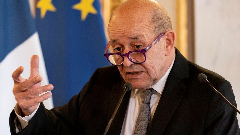 وزير خارجية فرنسا لودريان