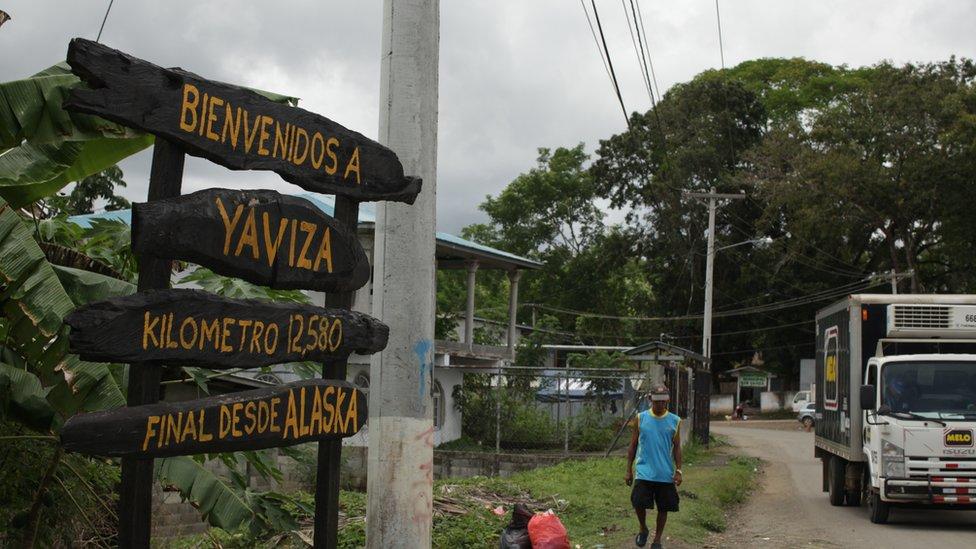 Yaviza, Panamá.