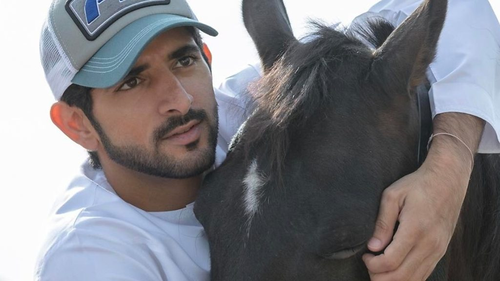 Fazza, Crown Prince of Dubai, the animal rescuer