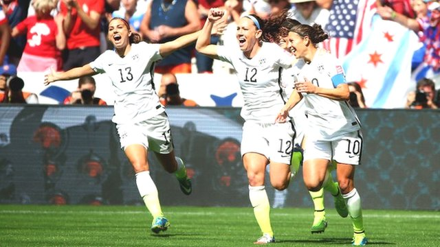 Women's World Cup 2015 final highlights: USA 5-2 Japan