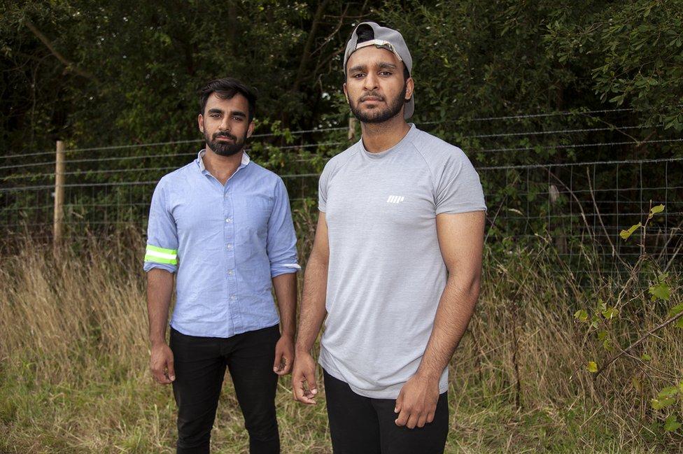 Brothers Jamal, 23, and Faiz Chughtai, 21, from Hall Green, Birmingham.