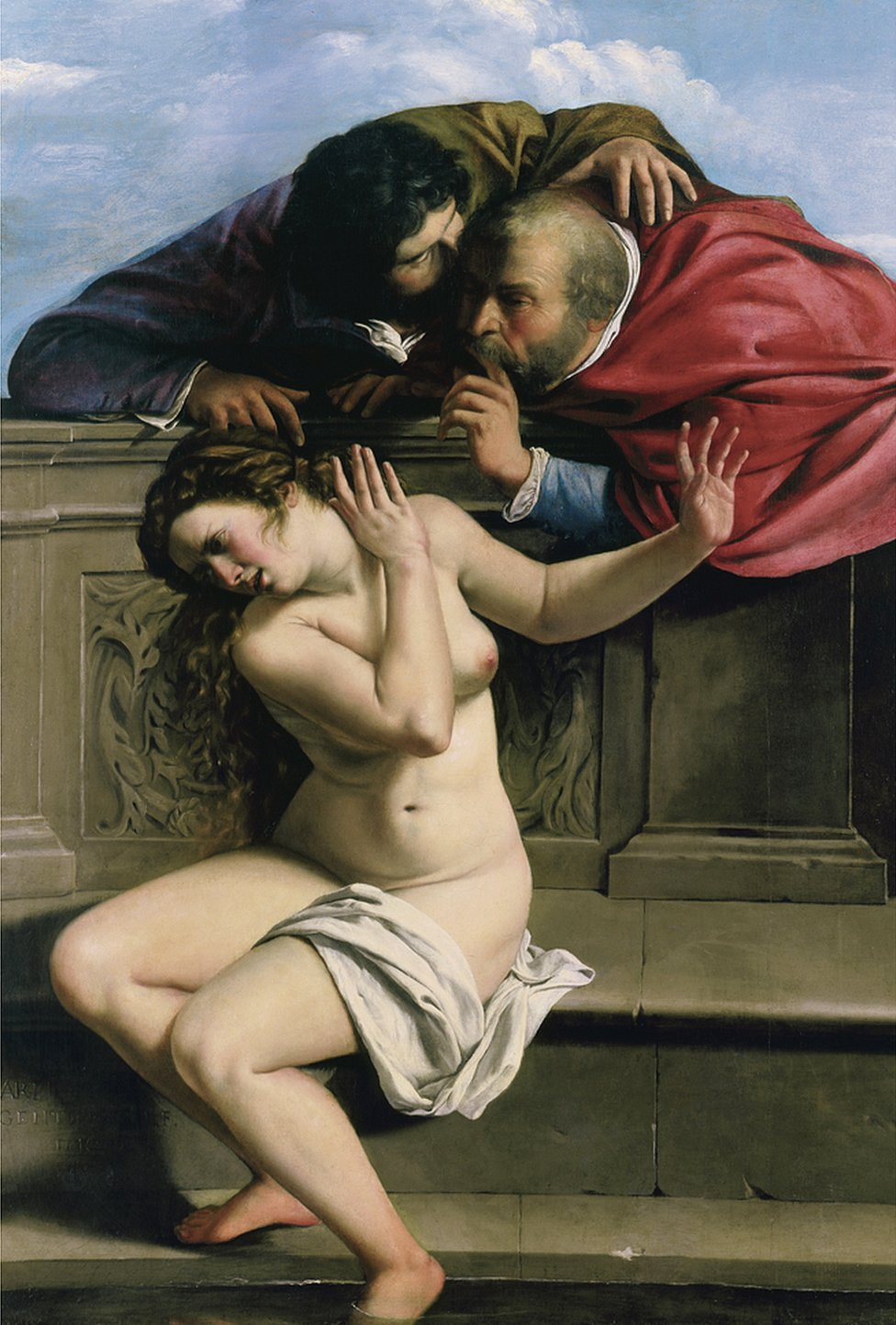 Susannah and the Elders 1610
