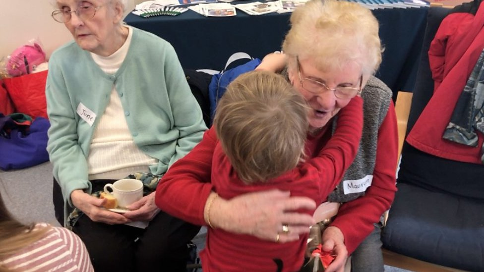 Shrewsbury pre-school group invites pensioners to festive party