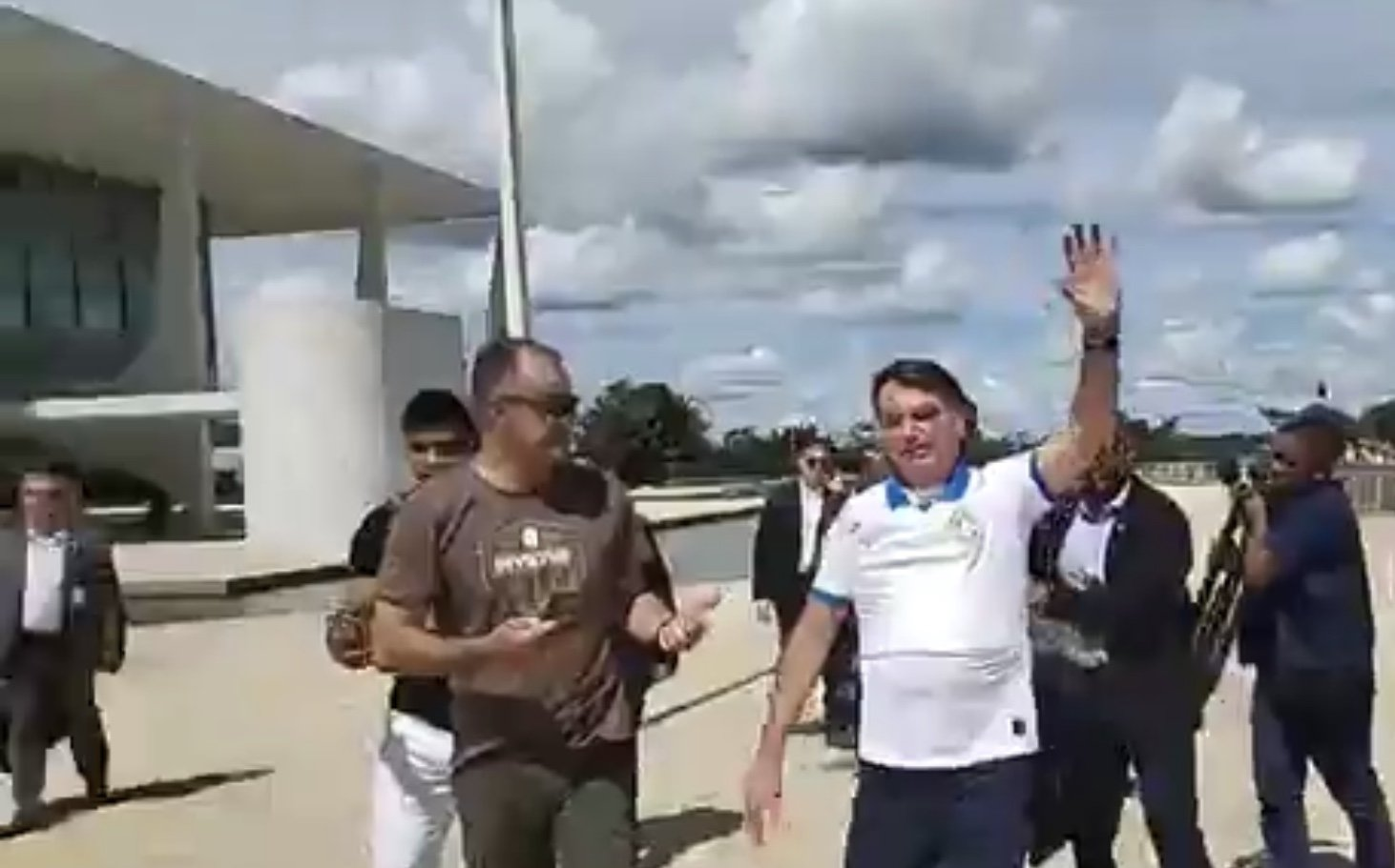 Barra Torres e Bolsonaro