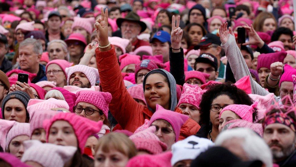 La marcha de las Mujeres