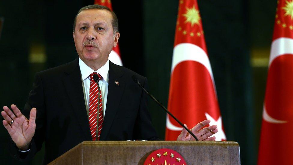 Turkish President Recep Tayyip Erdogan, 24 Nov 15