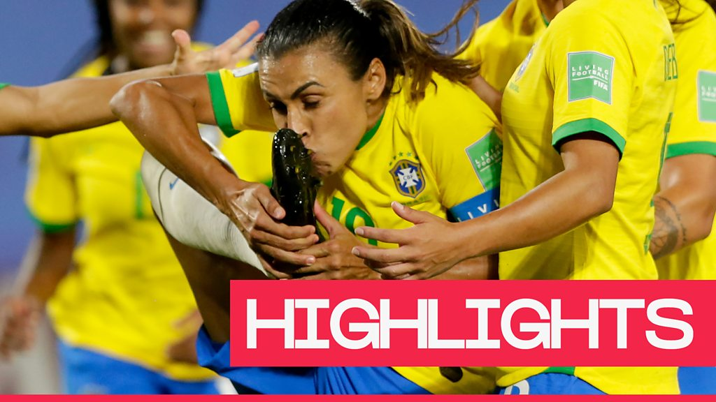 Women's World Cup 2019: Record-breaking Marta helps Brazil beat Italy