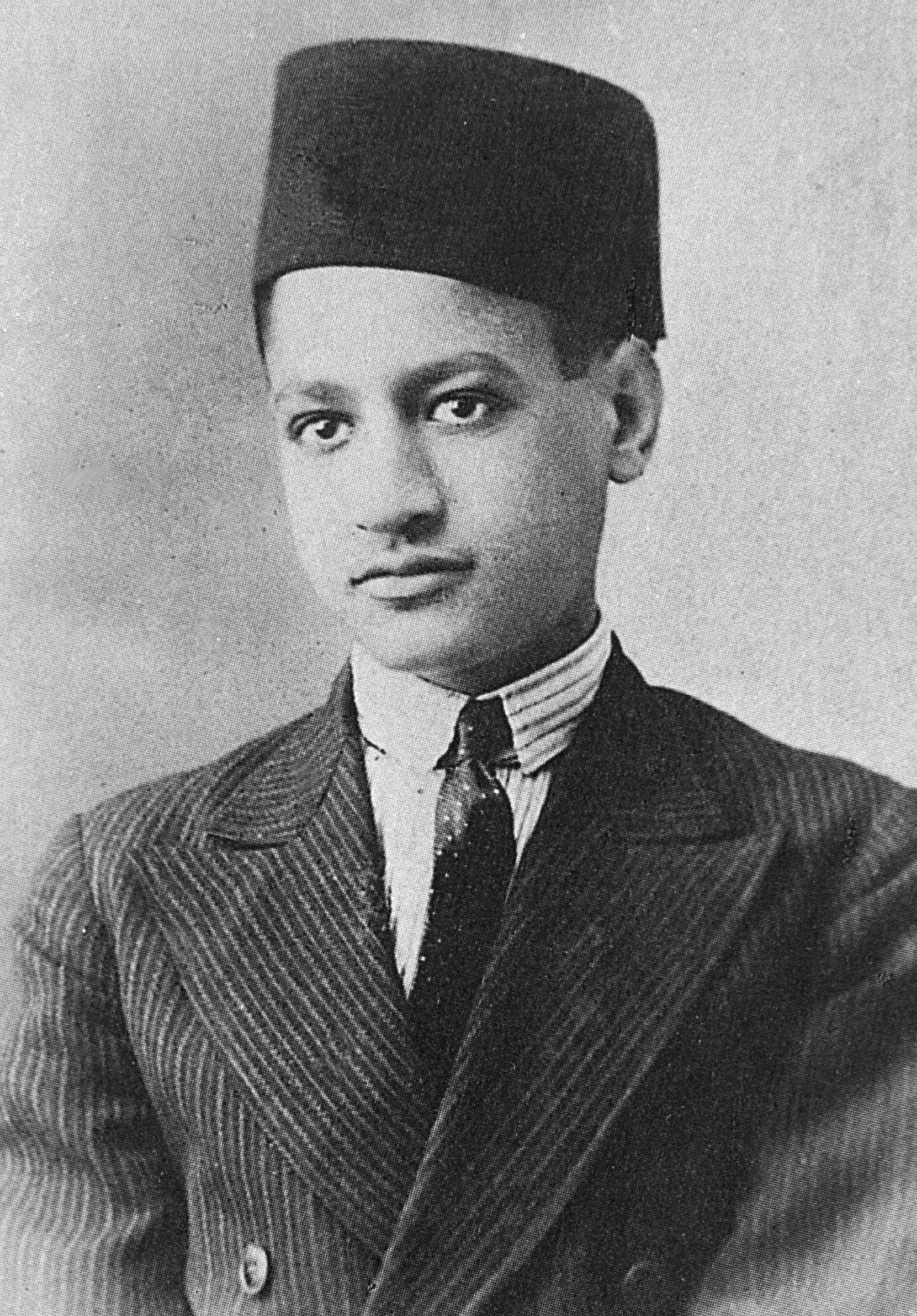 جمال عبد الناصر في صورة يعود تاريخها لعام 1931