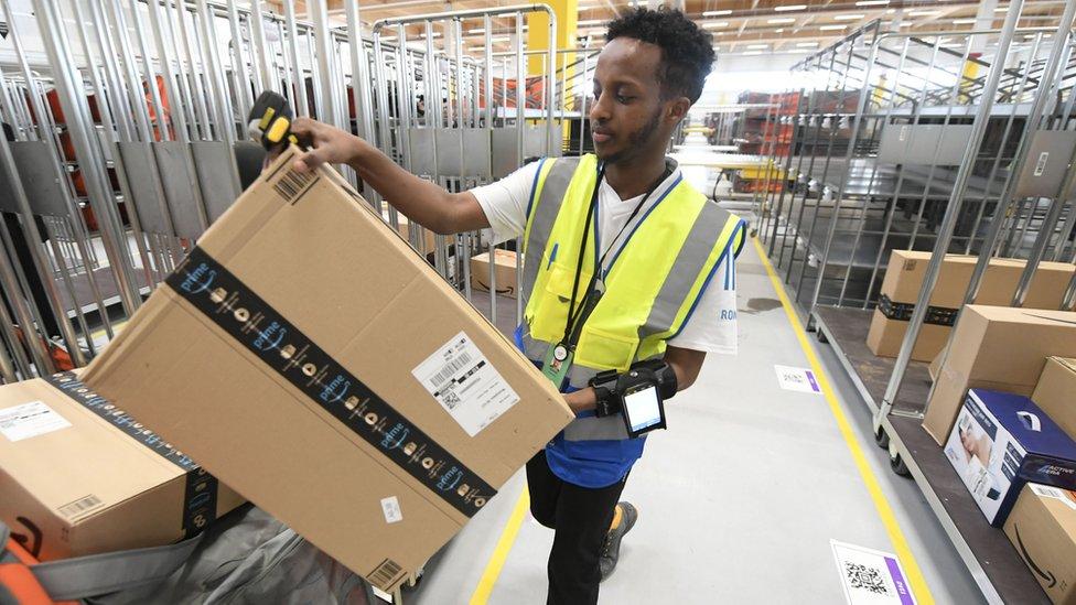 Amazon posts fourth quarter of record profit