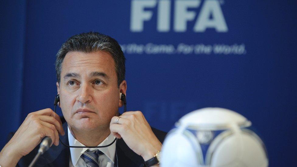 Michael García investigó durante dos años las acusaciones de corrupción del proceso de adjudicación de la sede de la Copa Mundial 2022.