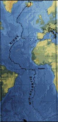 La dorsal Mesoatlántica
