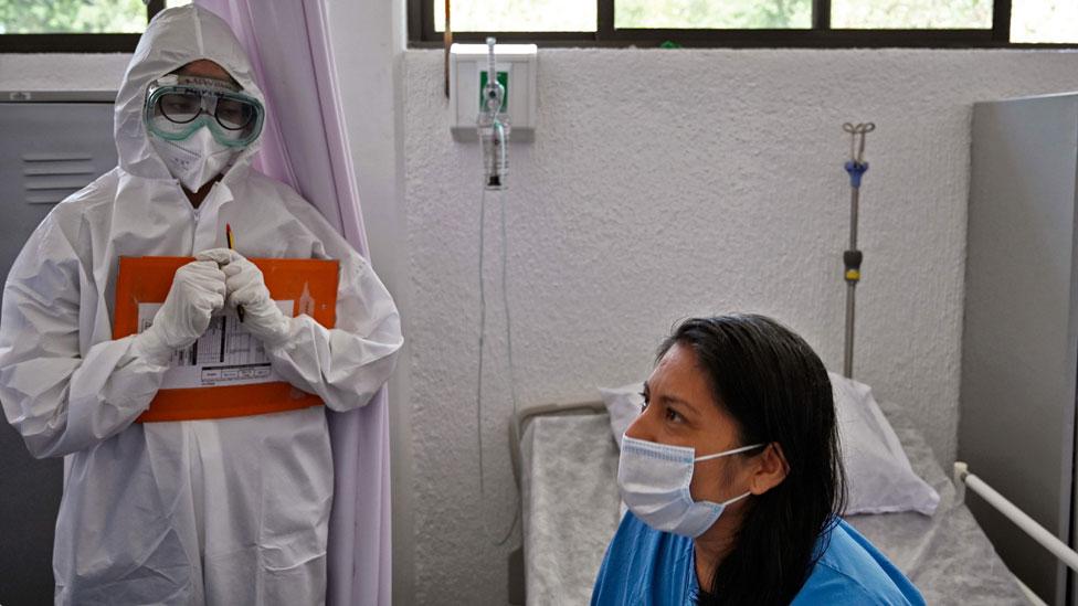 Paciente en México