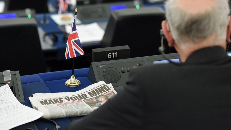 Eurodiputado británico.