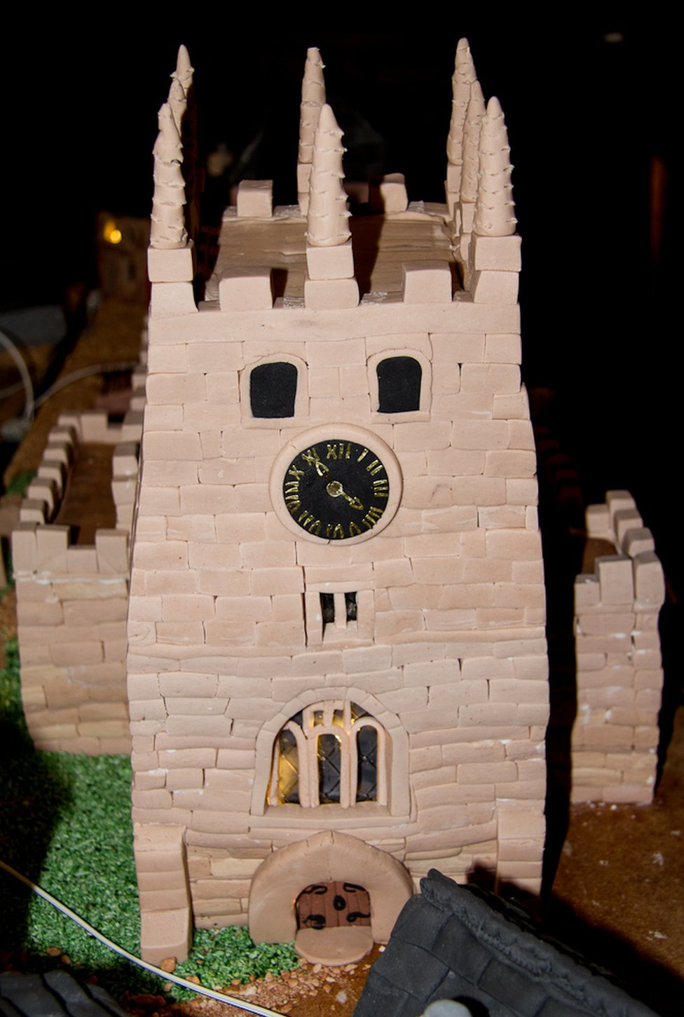 Church made from cake