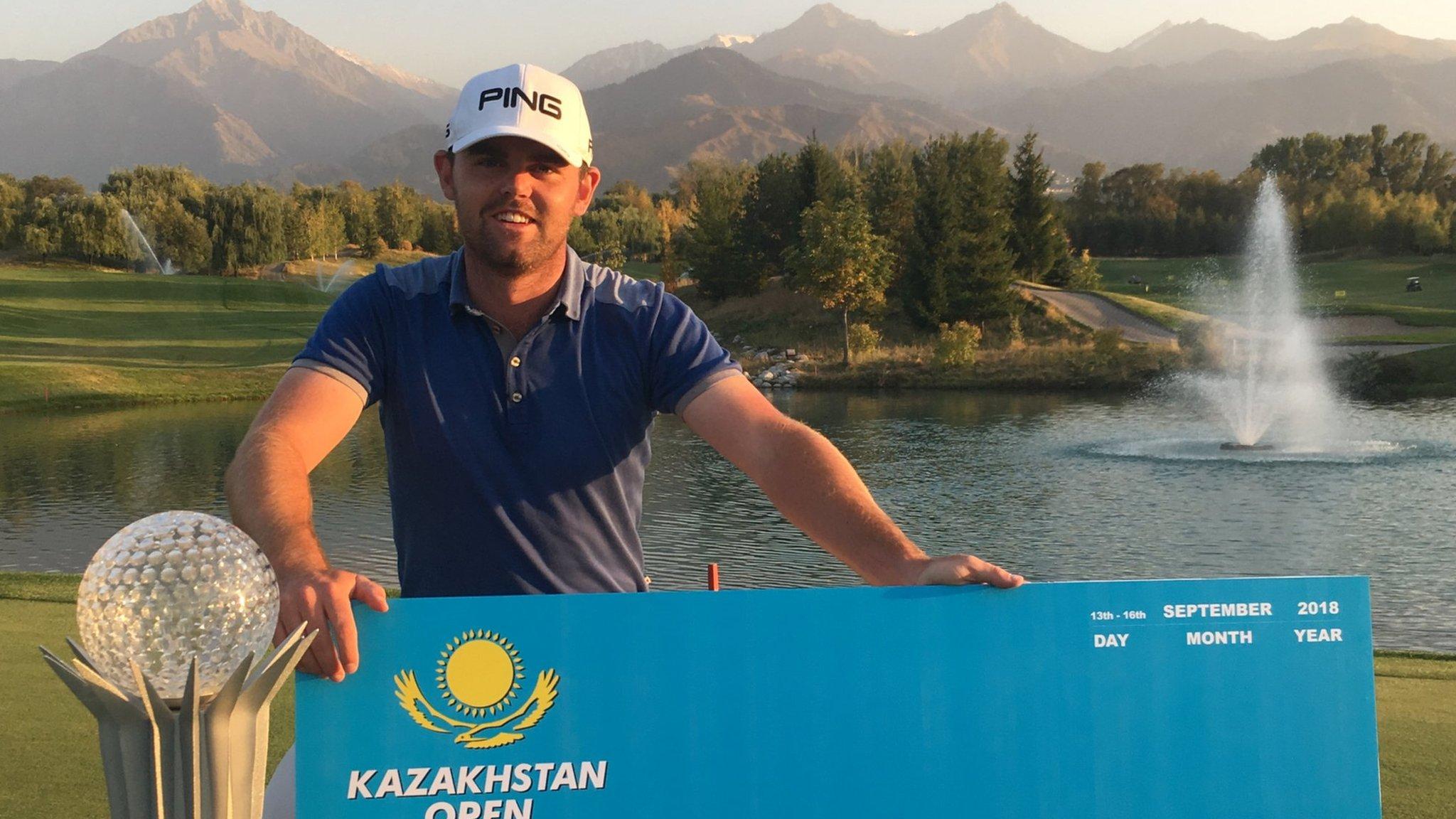 Scottish golfer Liam Johnston fulfils three-year plan in nine months