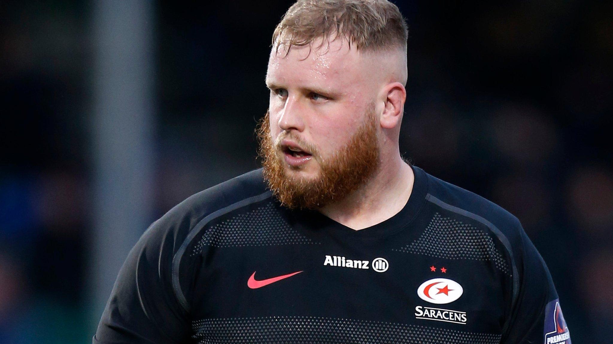 Christian Judge: Saracens re-sign Cornish Pirates prop for rest of season