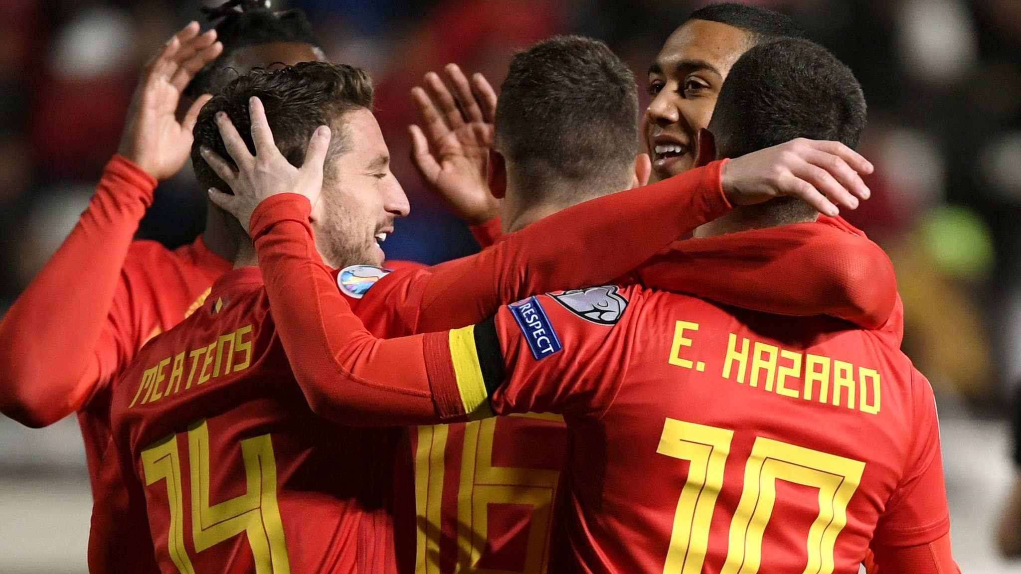 Cyprus 0-2 Belgium: Eden Hazard scores again as Red Devils top Euro qualifying group