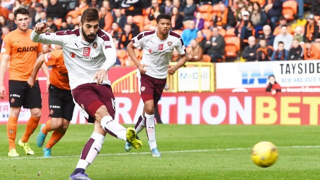 Highlights - Dundee Utd 0-1 Hearts