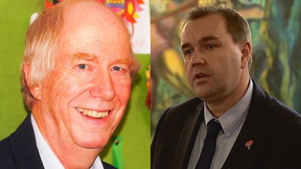 Malcolm Chisholm and Neil Findlay
