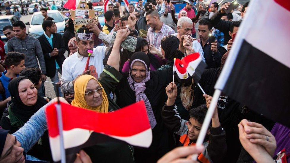 نساء ورجال مصريون