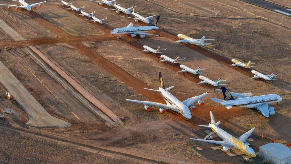 طائرات كانتاس