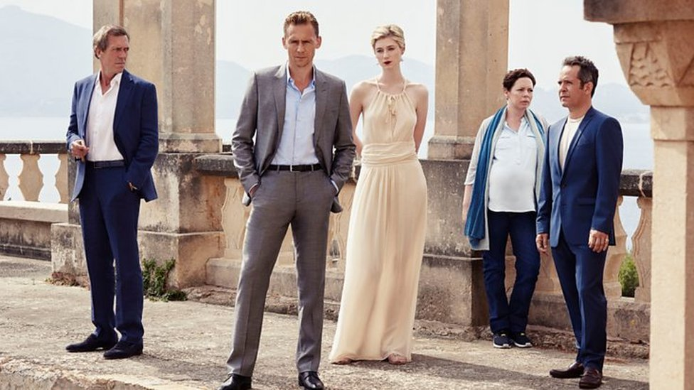 Scene from The Night Manager
