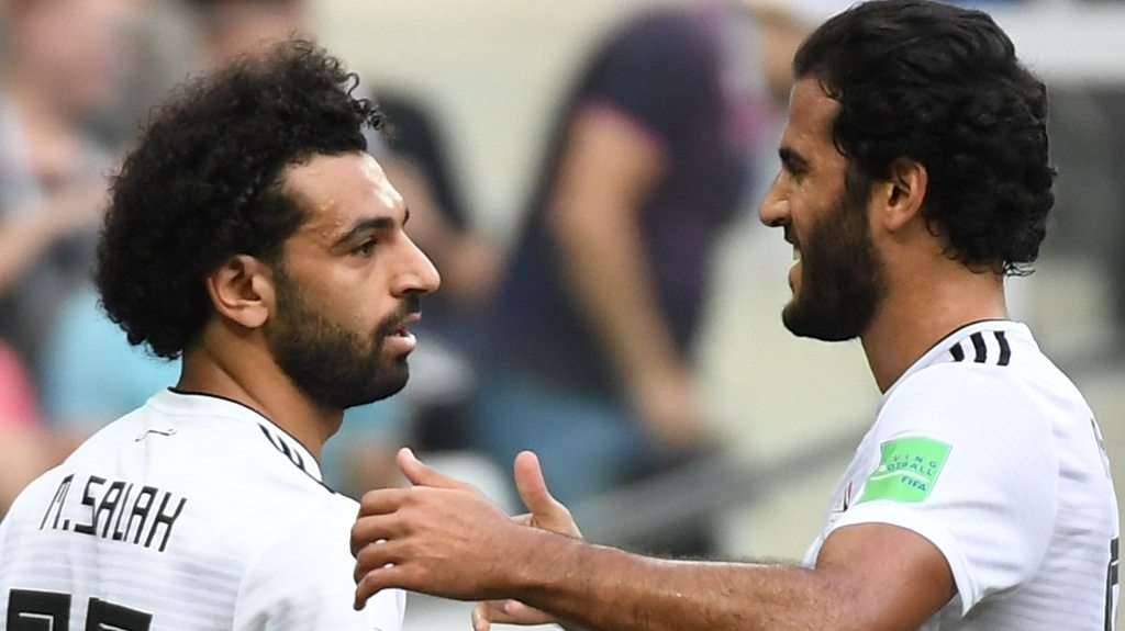 World Cup 2018: Mohammed Salah's smart finish gives Egypt lead