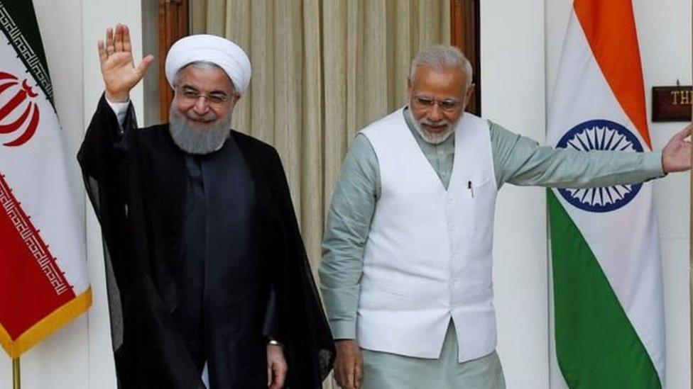 क्या अमरीका की तर्ज़ पर भारत पर दबाव बनाना चाहता है ईरान?