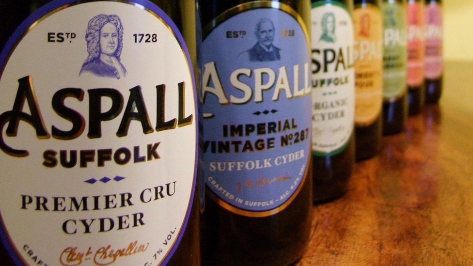 Aspall ciders
