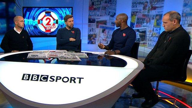 Match of the Day 2 Extra pundits Danny Murphy, Jason Roberts and the Telegraph's Jason Burt