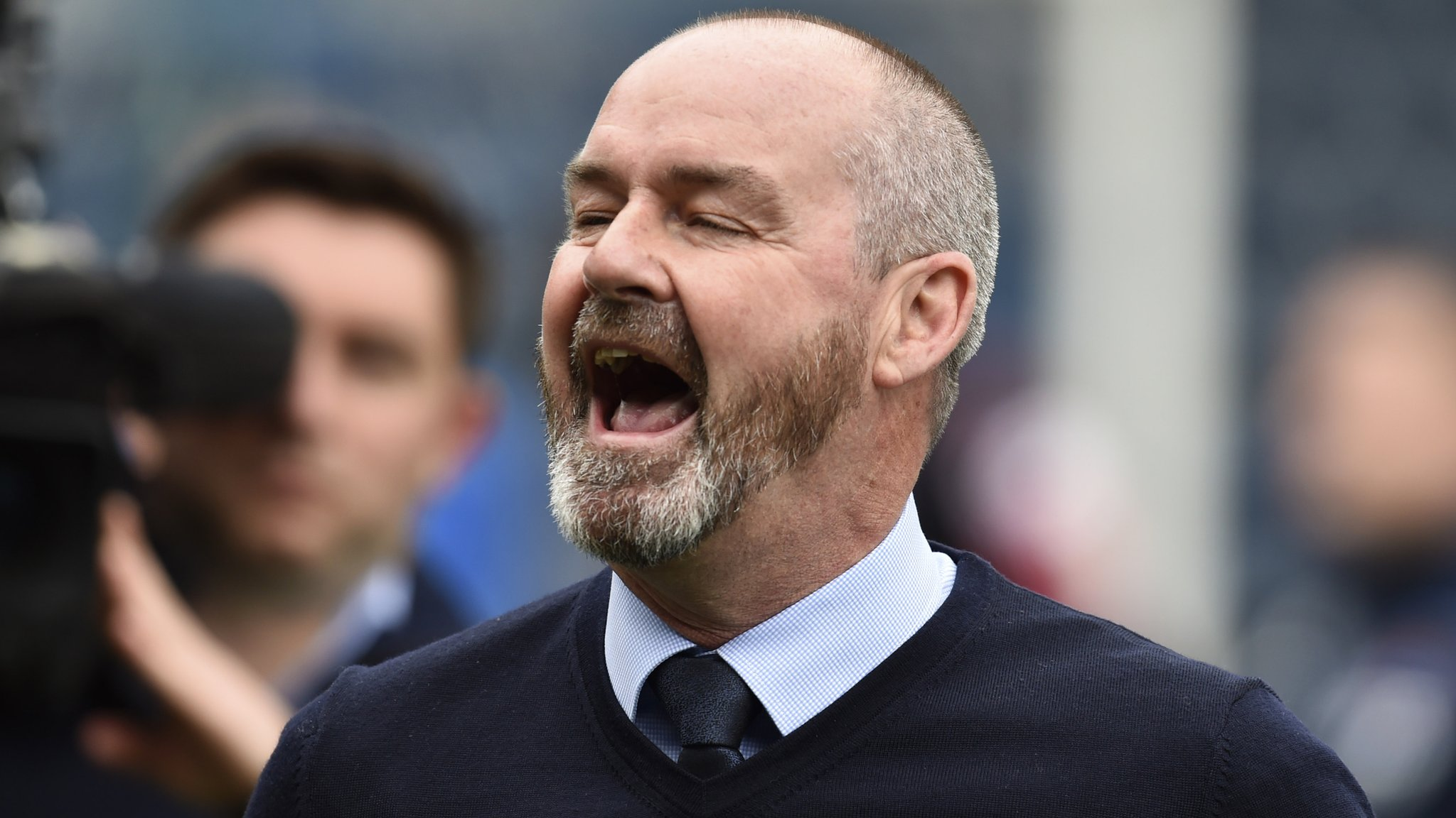 Steve Clarke is named new Scotland manager on three-year deal