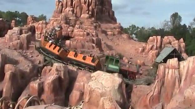 Big Thunder Mountain o Ferrocarril Montaña Gran Trueno