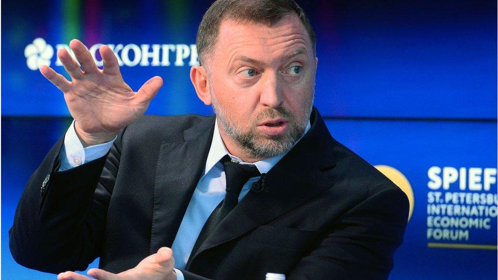 Oleg Deripaska es uno de los oligarcas acusado de operar a favor del gobierno de Rusia y está en una lista de sancionados por Estados Unidos.