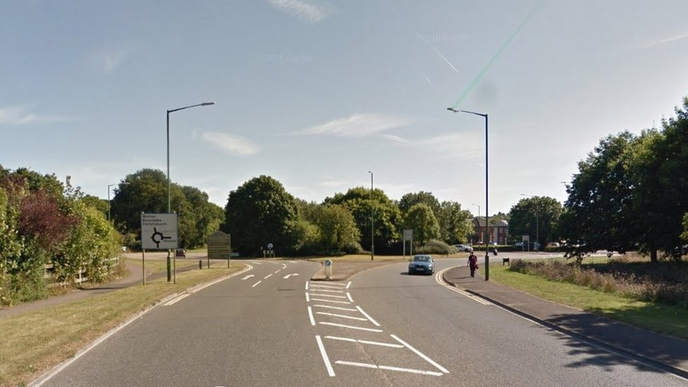 New Road near Northbourne roundabout