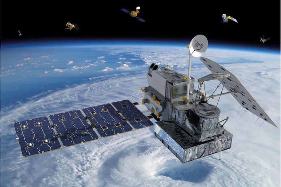 Desde la década de 1980 se usan satélites para monitorear el clima.