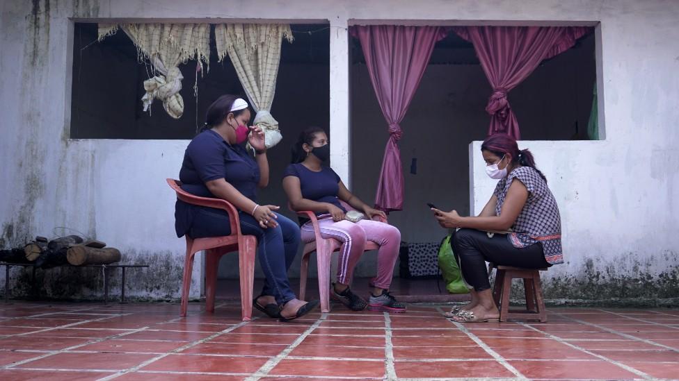Desplazados venezolanos