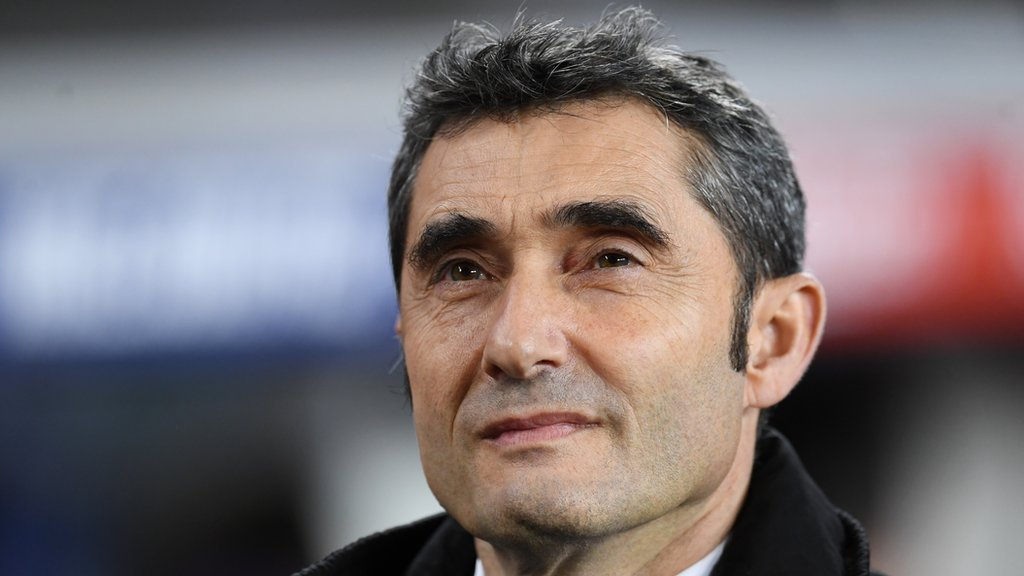 Barcelona manager Ernesto Valverde signs one-year contract extension