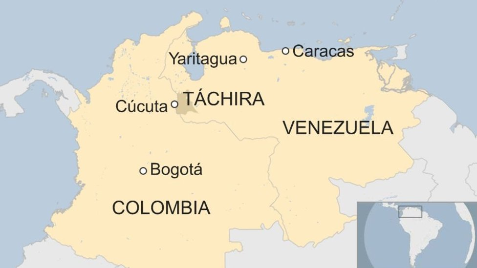 Mapa Cúcuta