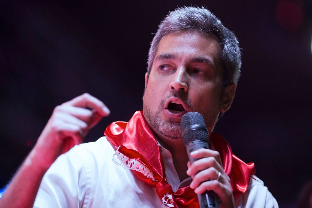 Mario Abdo Benítez.